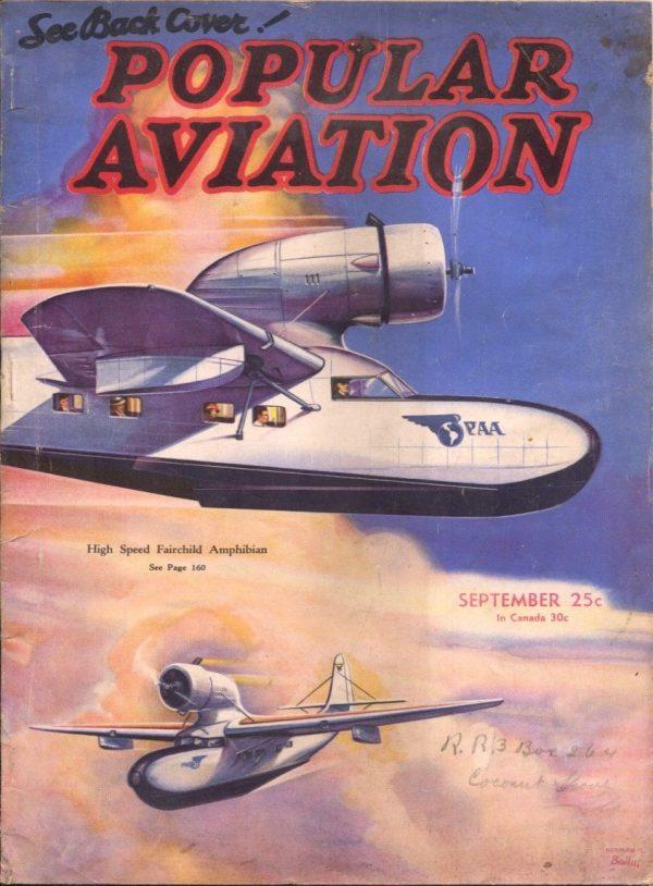 Popular Aviation Septermber 1935