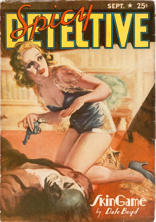 Spicy Detective Stories - September 1939