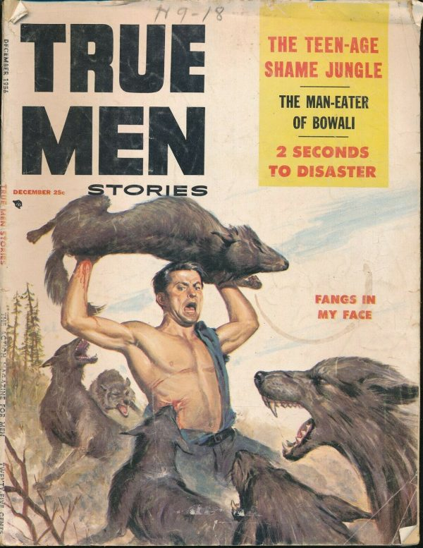 TRUE MEN Vol. 1 No. 2 December 1956