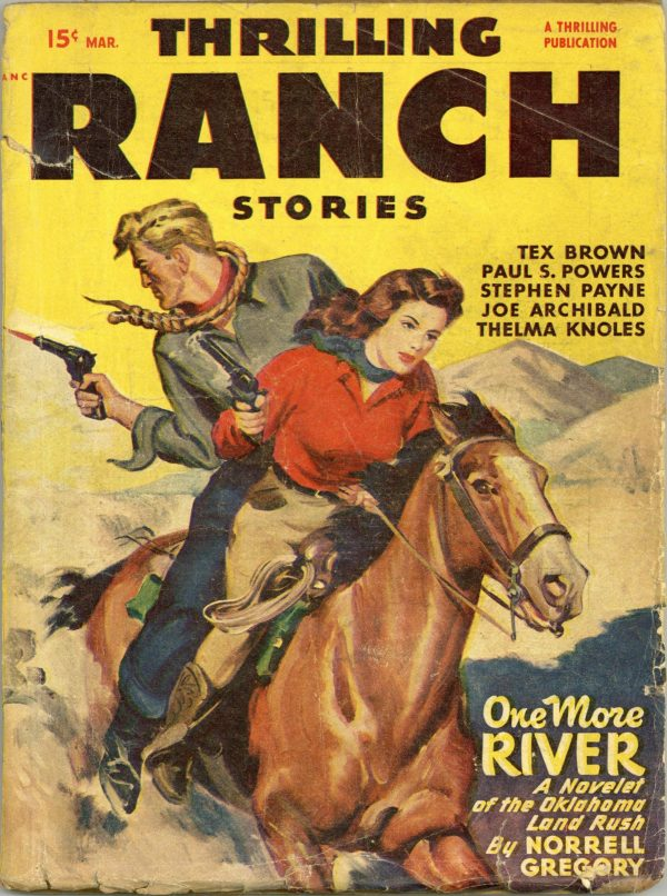 Thrilling Ranch Stories March 1948