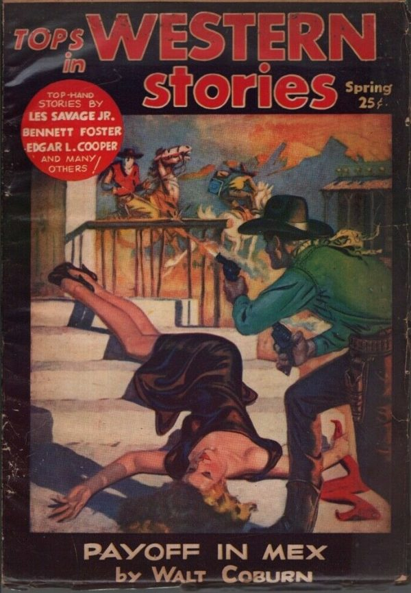 Tops in Western Stories 1953 Spring