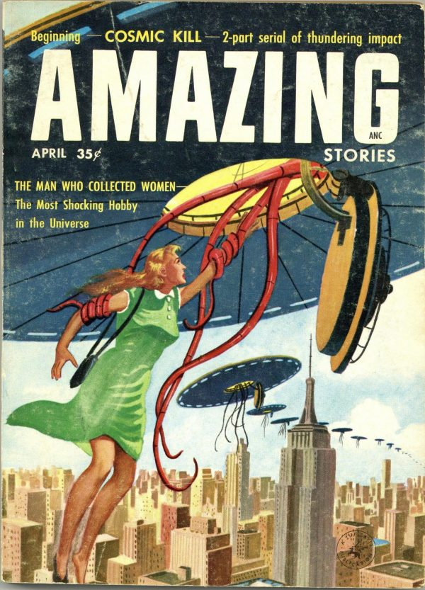 Amazing Stories April 1957