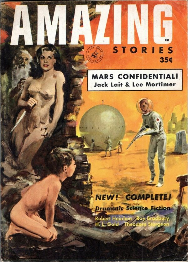 Amazing Stories, April-May 1953