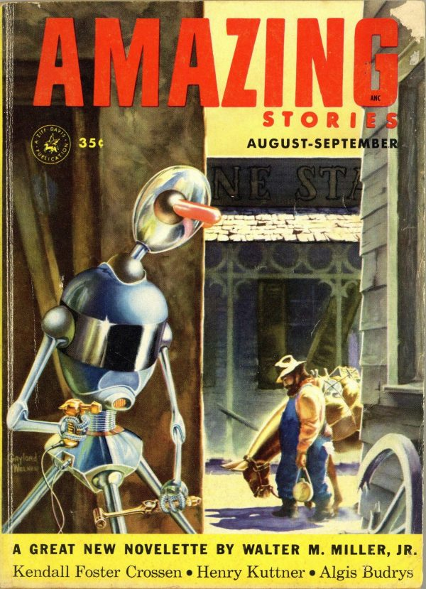 Amazing Stories, August-September 1953