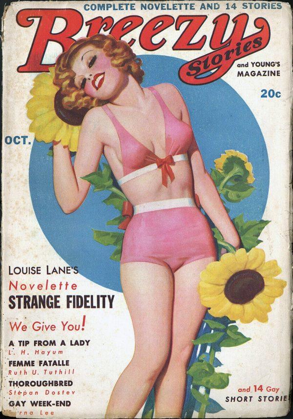 Breezy Stories October 1936