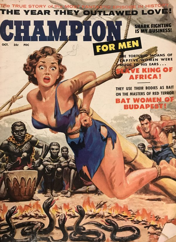 Champion For Men Magazine 1959 October