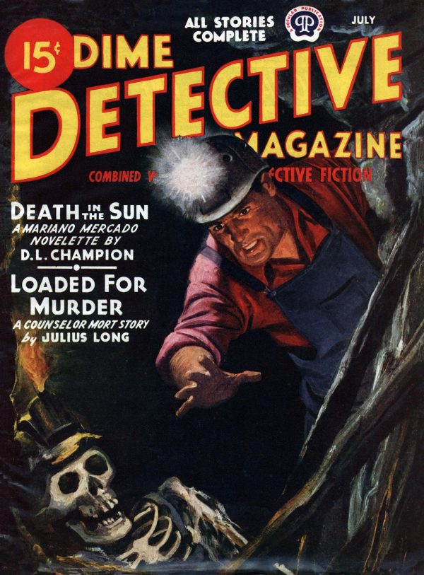 Dime Detective July 1945