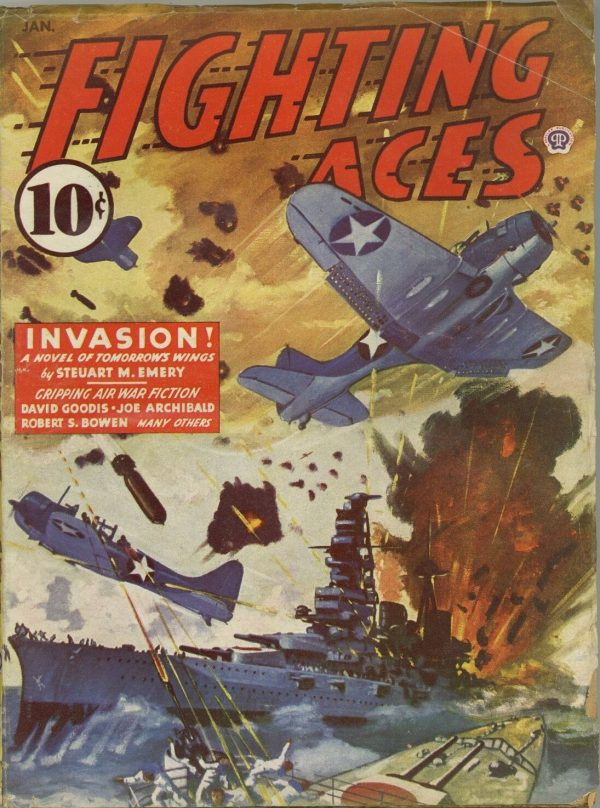 Fighting Aces January 1944
