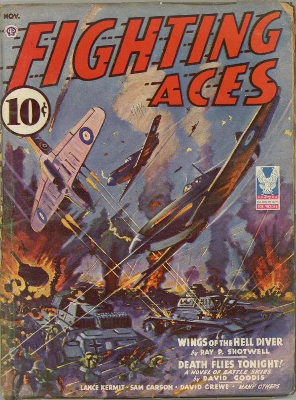 Fighting Aces November 1943