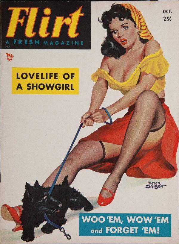 Flirt Magazine, October, 1951