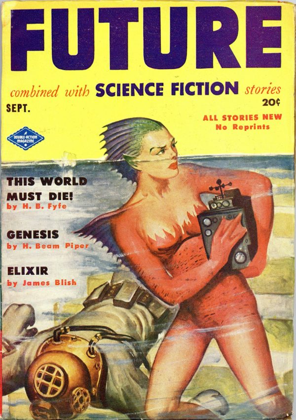 Future Combined with Science Fiction September 1951