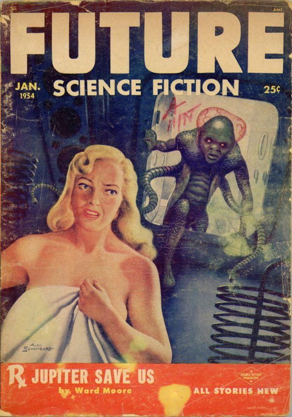 Future Science Fiction January 1954