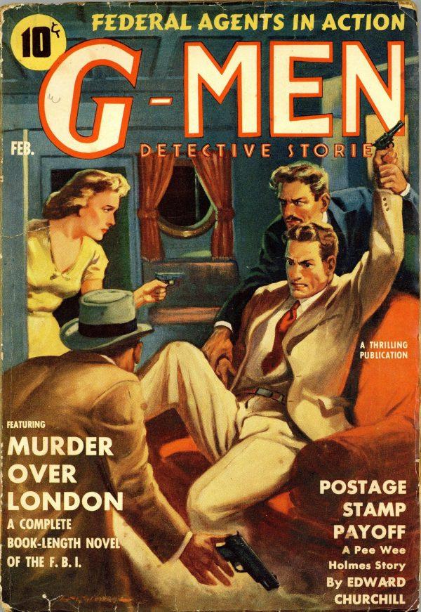 G-Men Detective February 1940