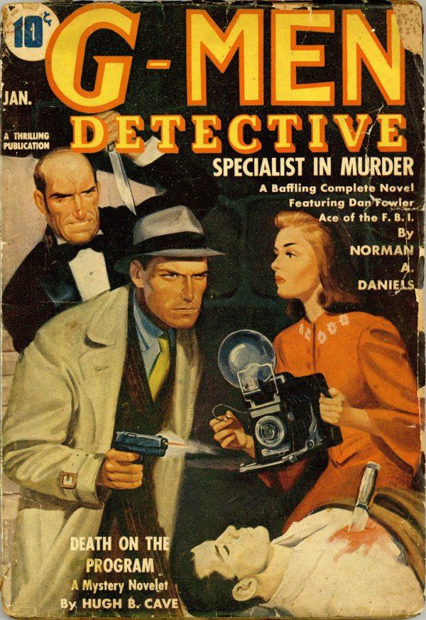 G-Men Detective January 1941