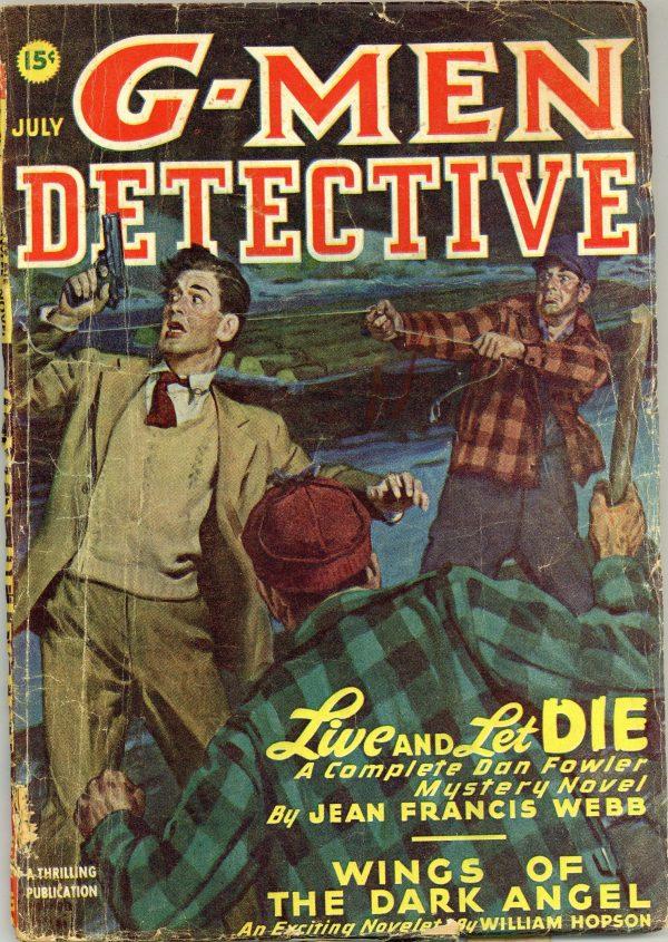 G-Men Detective July 1947