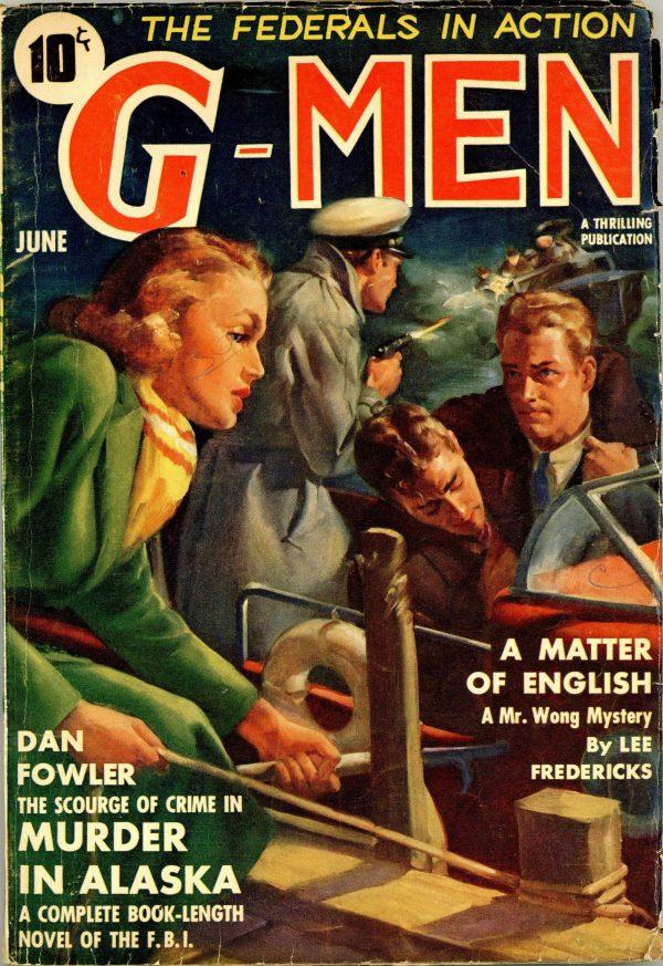 G-Men Detective June 1939