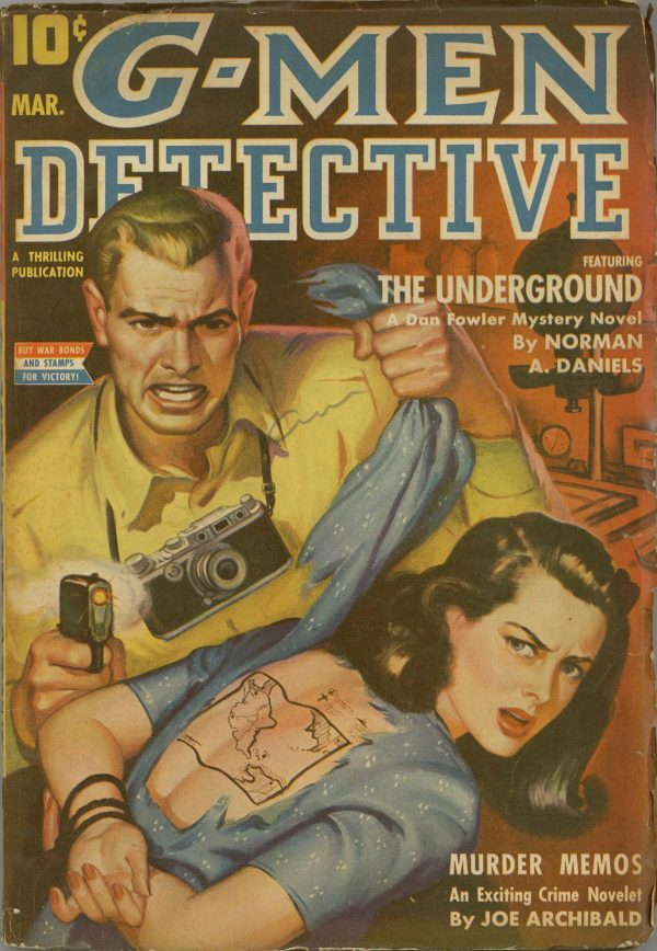 G-Men Detective Magazine March 1943