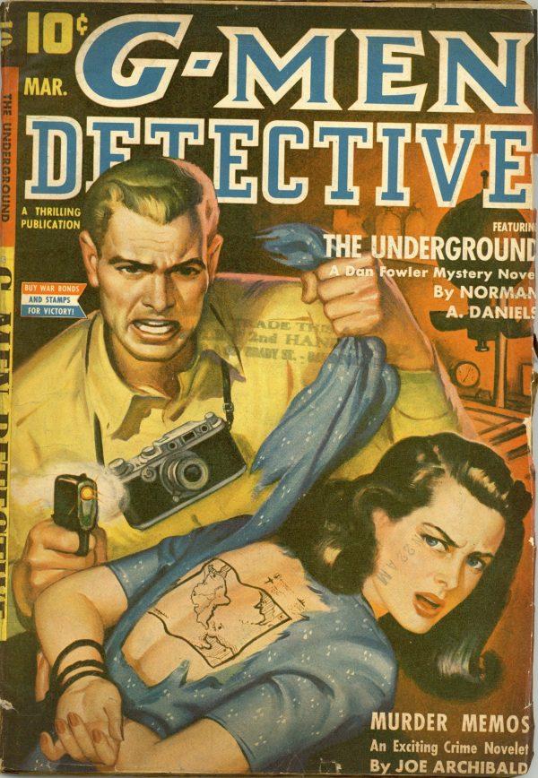 G-Men Detective Mar 1943