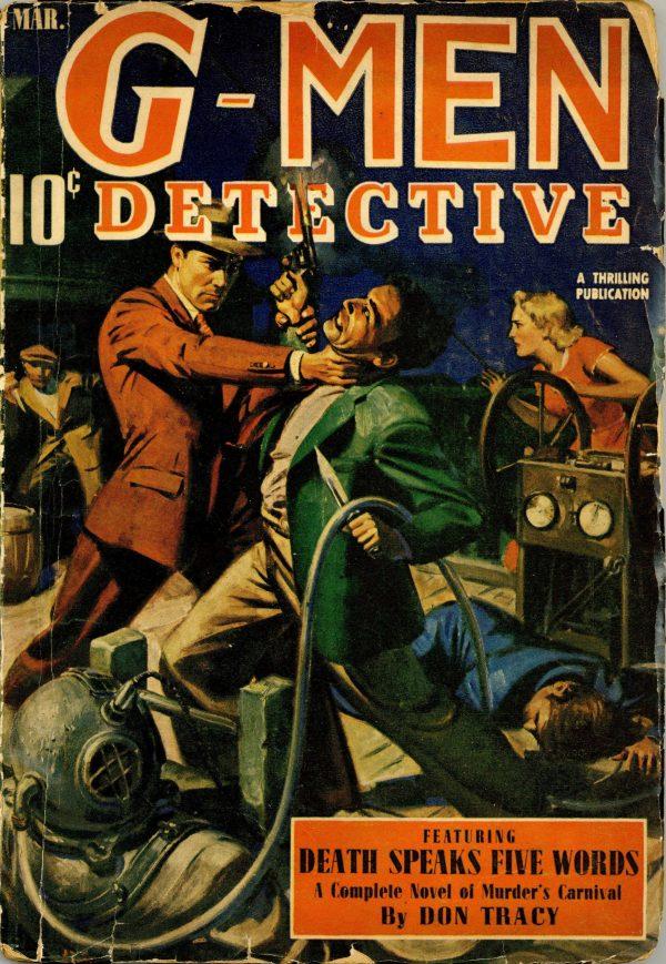 G-Men Detective March 1940