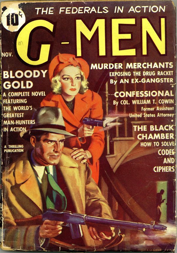 G-Men Detective November 1936
