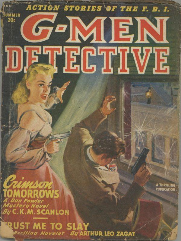G-Men Detective Summer 1949