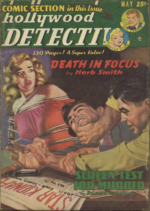 Hollywood Detective May 1950