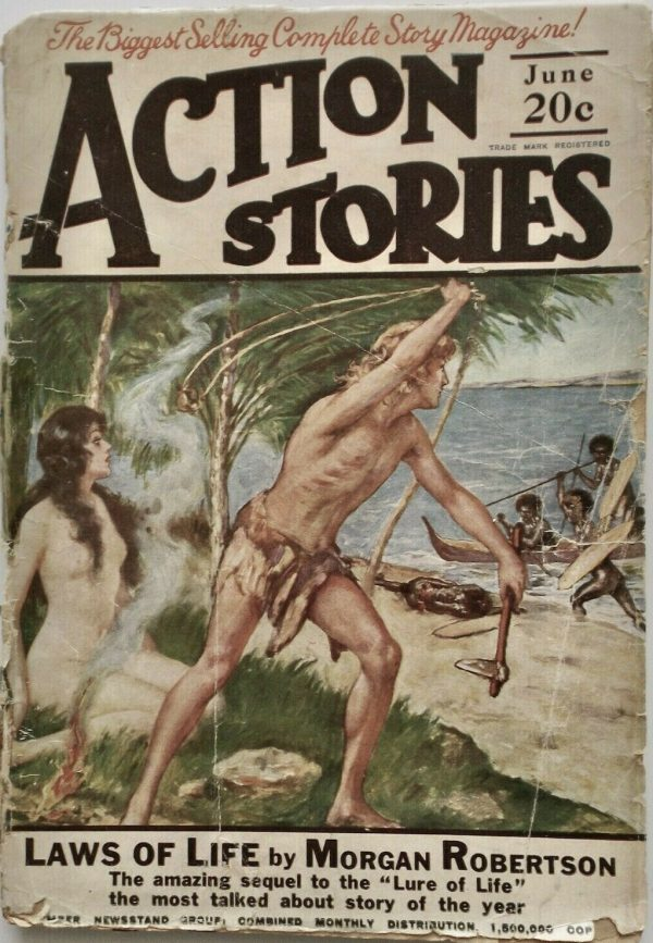 June 1924 Action Stories