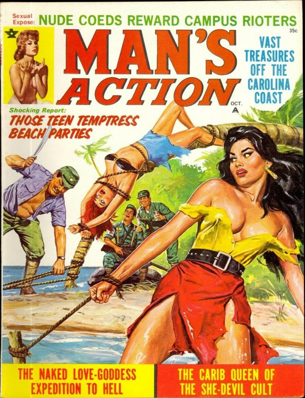 Man's Action October 1969