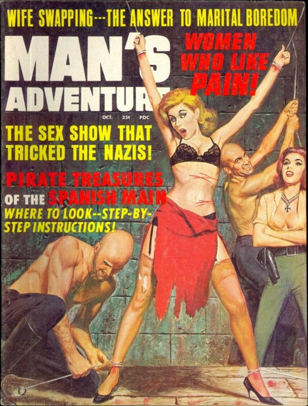 Man's Adventure October 1967