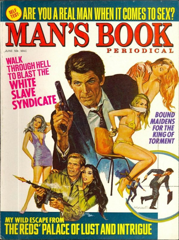 Man's Book June, 1970