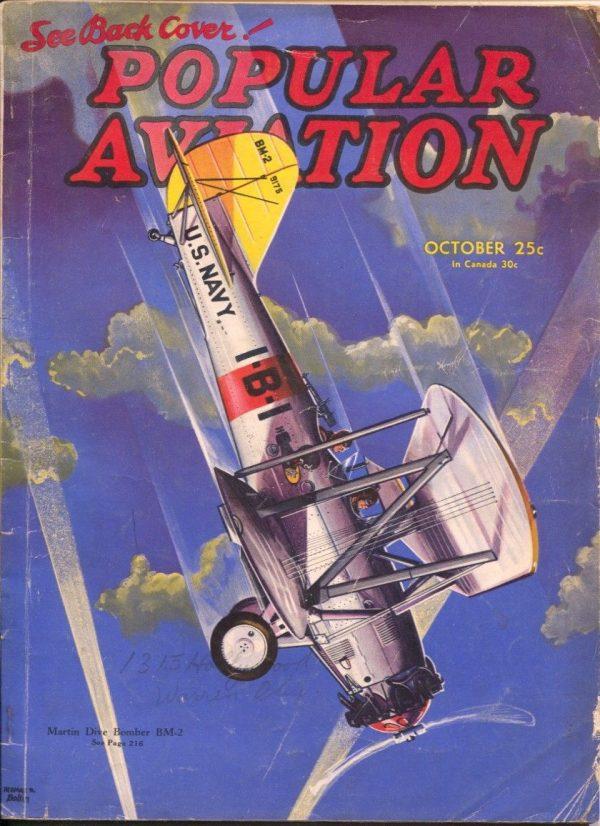 Popular Aviation October 1935