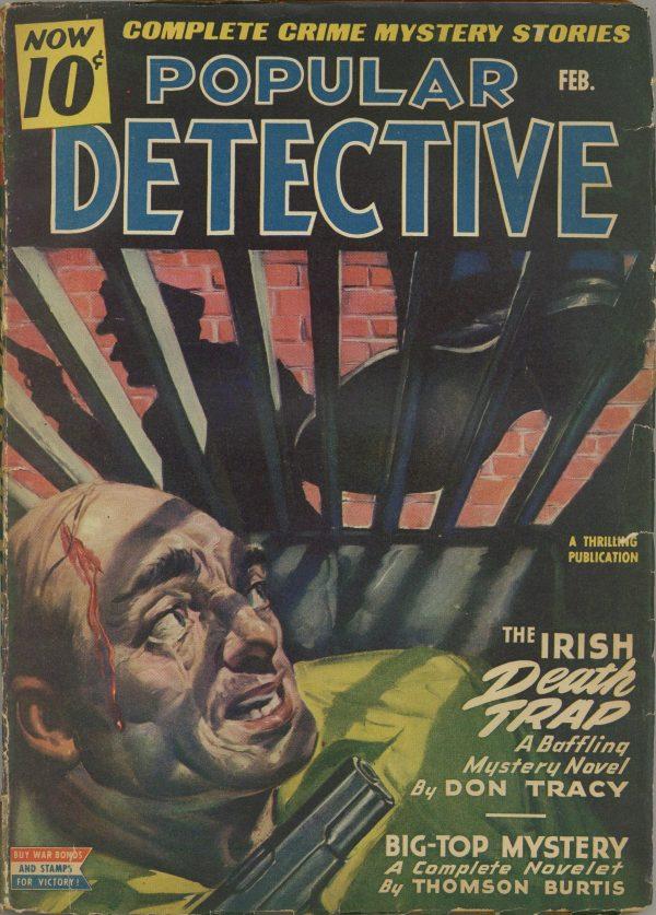 Popular Detective Magazine February 1944