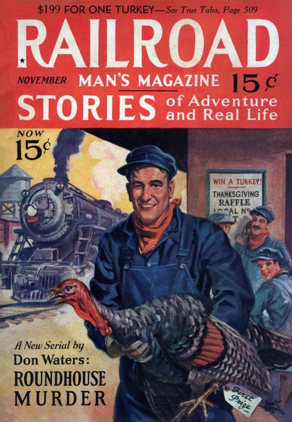 Railroad Man's Magazine November 1931
