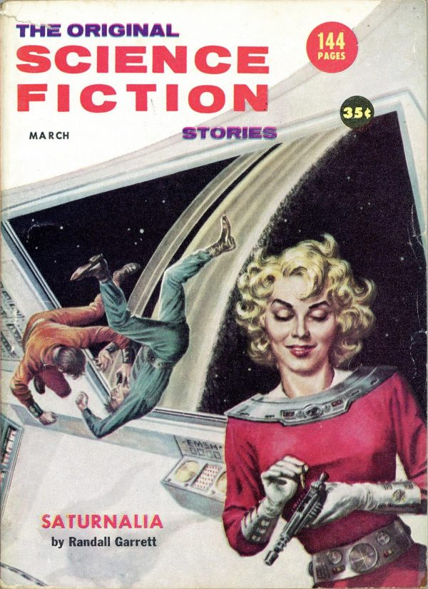 Science Fiction Stories March 1957