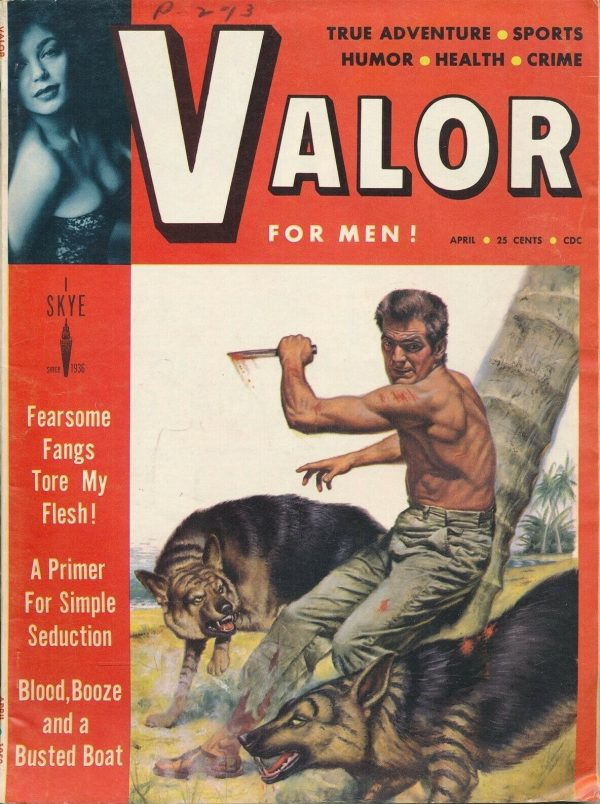 VALOR for MEN! April 1958