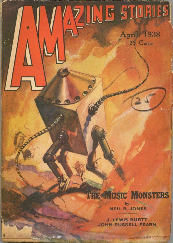 Amazing Stories April 1938