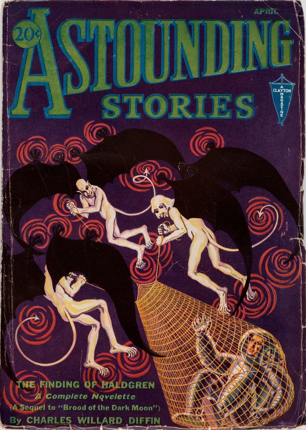 Astounding Stories - April 1932