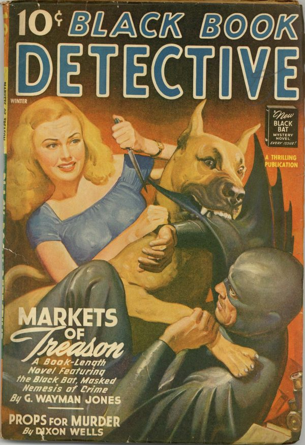 Black Book Detective December 1943