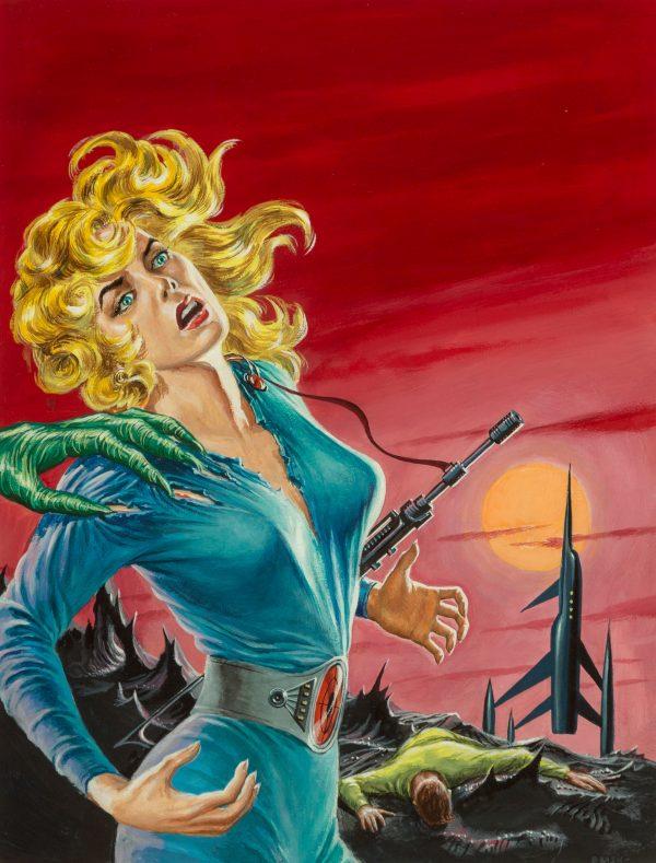 Desire Woman, Super-Science Fiction cover, June 1957