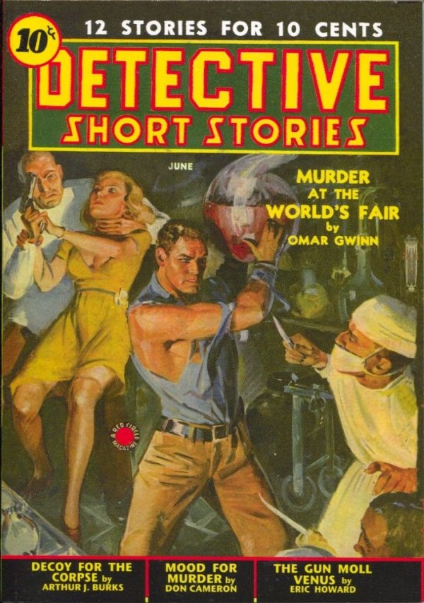 Detective Short Stories June 1939