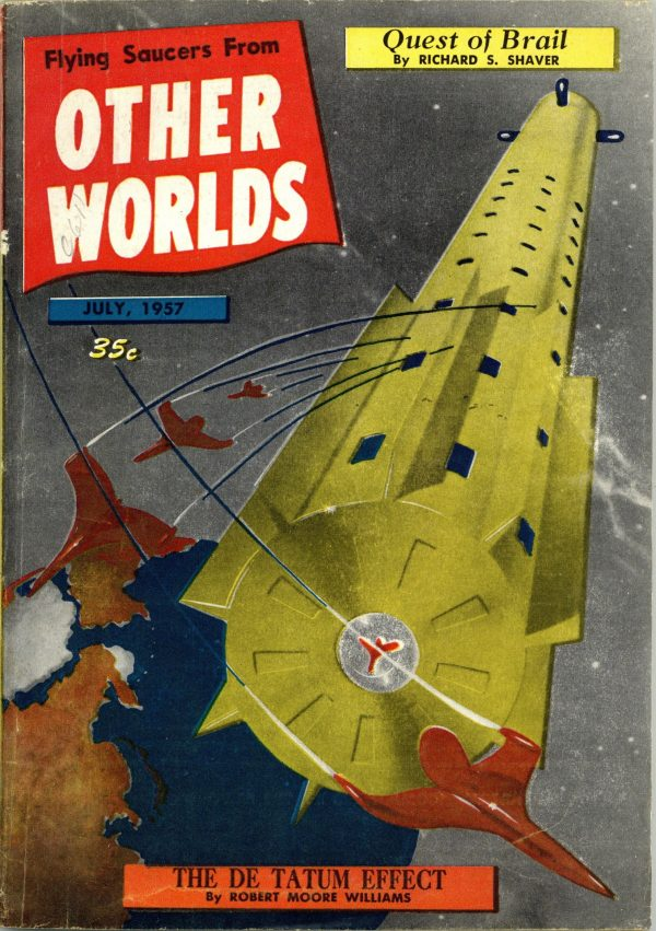 Other Worlds July 1957