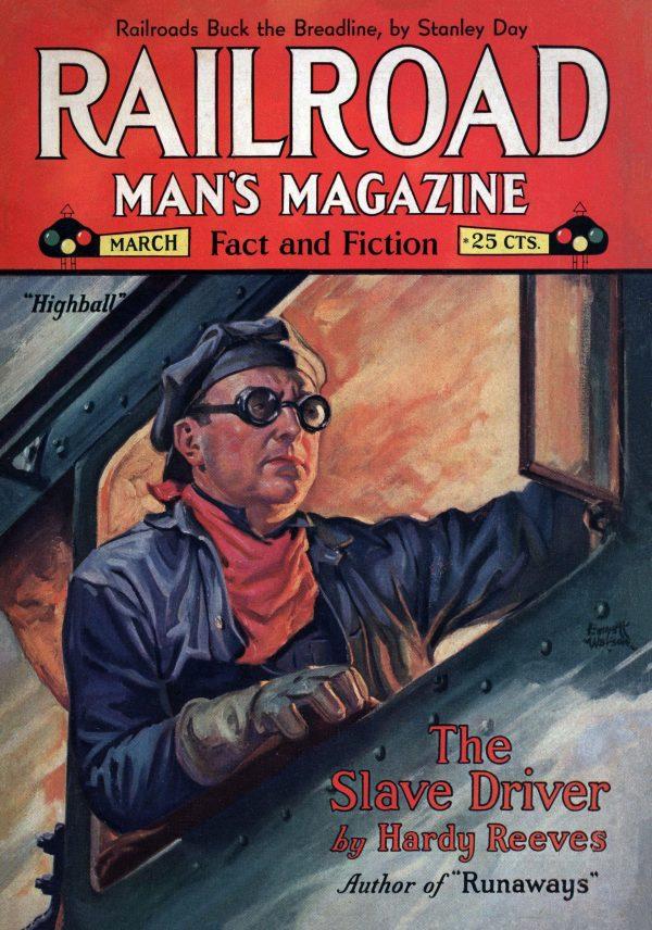 Railroad Man's Magazine March 1931