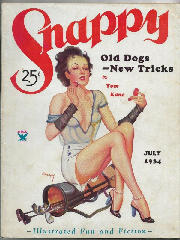 Snappy Stories July 1934