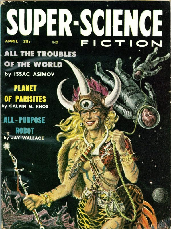 Super-Science Fiction April 1958