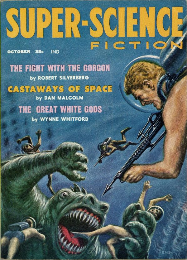 Super-Science Fiction October 1958