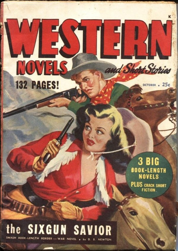 Western Novels and Short Stories October 1948