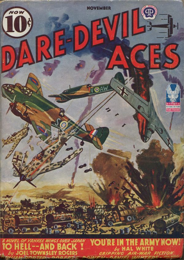 Dare Devil Aces November 1942