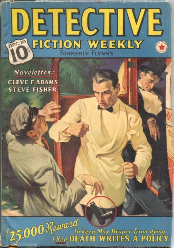 Detective Fiction Weekly December 10th 1938