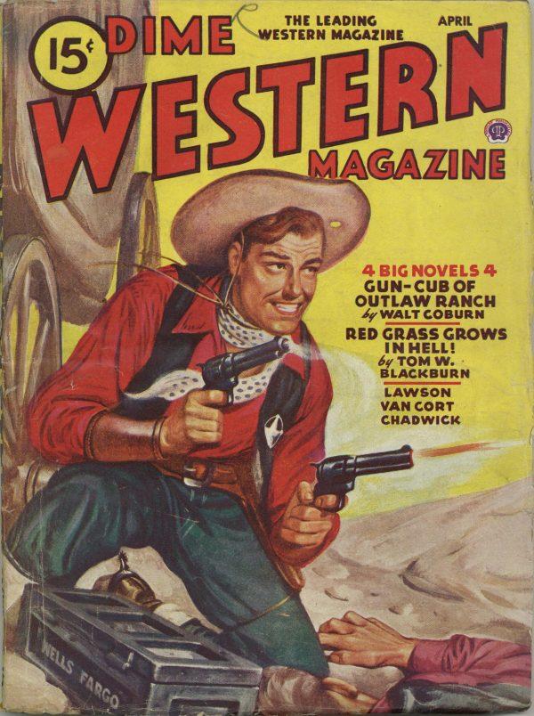 Dime Western Magazine April 1946