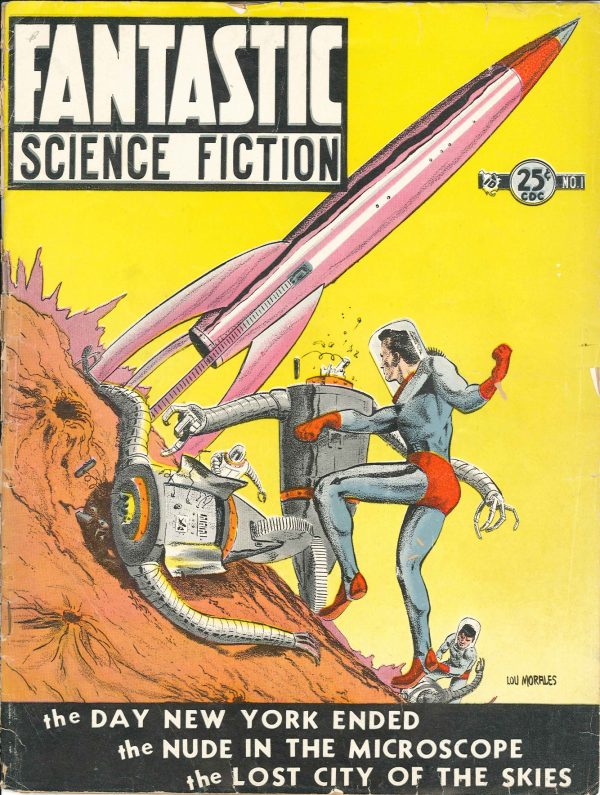 Fantastic Science Fiction 1952 August